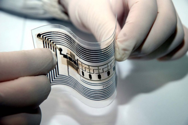 Modelo flexible de etiqueta identificadora (tag) por radiofrecuencia (RFID)